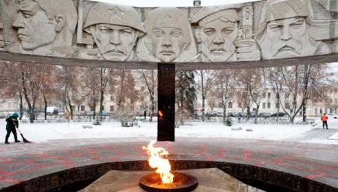 """Меморил """"Вечный огонь"""" в Тамбове"""