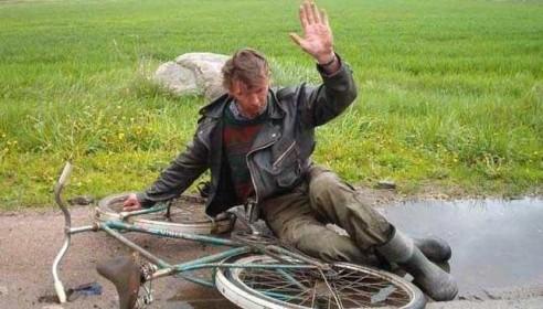 Пьяный велогонщик