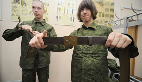 Взамен армейского будет введен брючный нейлоновый ремень