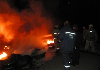 Неизвестный мужчина сгорел в куче мусора на севере Тамбова