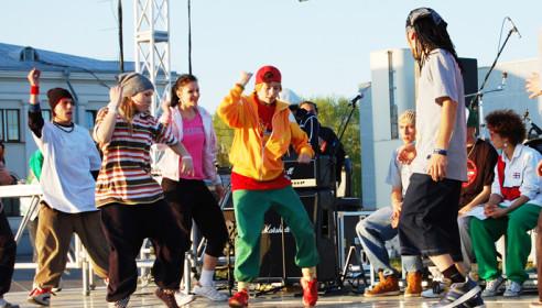 Первый фестиваль уличных танцев в Тамбове