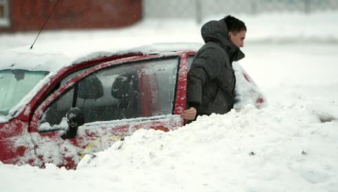 На Тамбов обрушится сильный снегопад