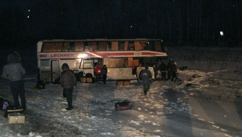 ДТП под Тамбовом: автобус столкнулся с Газелью