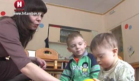 В Тамбове открылась коррекционная группа для детей с синдромом Дауна
