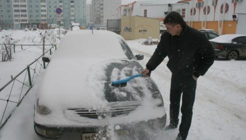 Снег в Тамбове