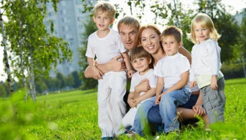 Многодетные семьи в Тамбове