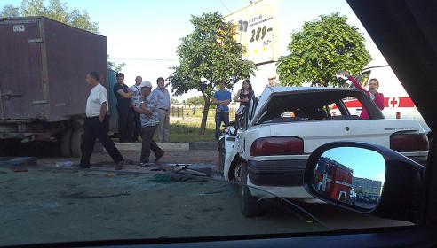 Авария в Тамбове на улице Рылеева 21.05.2013