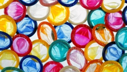 Раздача бесплатных презервативов в Тамбове