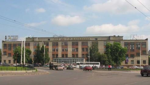 Комсомольская площадь в Тамбове