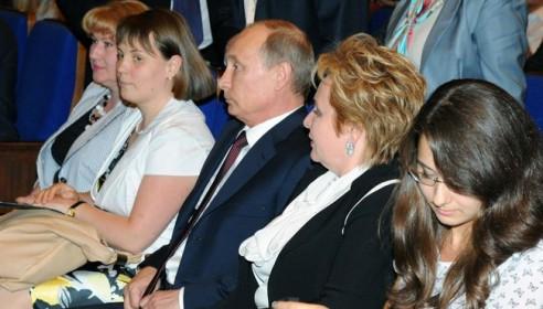 Путин развелся. Фото пресс-служба президента.