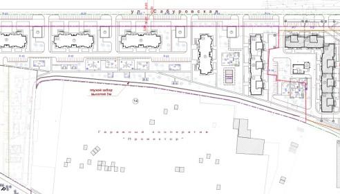 проект застройки квартала