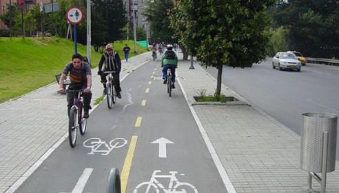 Велосипедные дорожки в городе