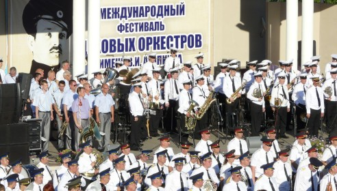 Фестиваль духовых оркестров в Тамбове