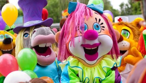 Фестиваль ростовых кукол в Тамбове