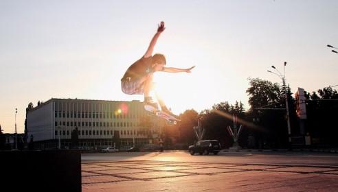 Соревнования по скейтбордингу в Тамбове. Фото vk.ru
