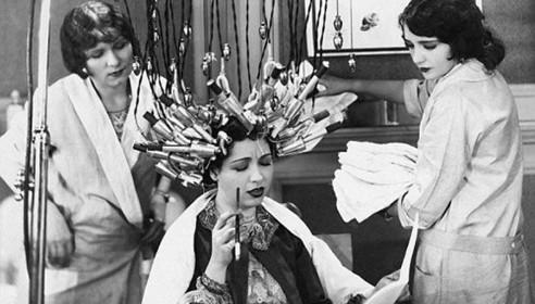 Салонные процедуры красоты в начале прошлого века