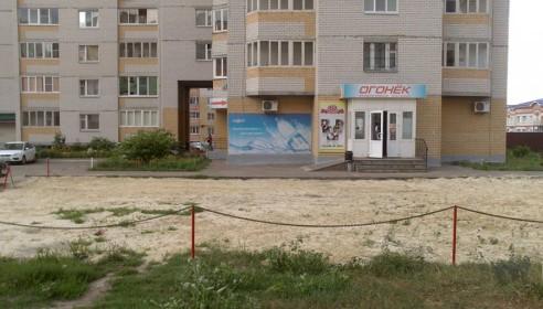 Строительство незаконной парковки у Победы, 5