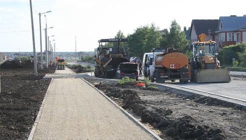 Строительство дорог в микр. Северный - Тамбов, ул. Свободная.