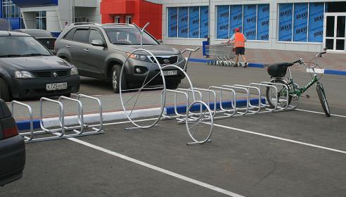 Велопарковка в Тамбове