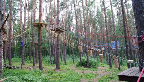 Веревочный городок в Липецкой области
