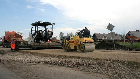 Строительство улицы Мичуринской на севере Тамбова