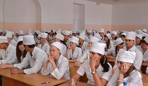 Студенты тамбовского Мединститута