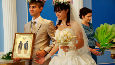 Свадьбы на День любви, семьи и верности