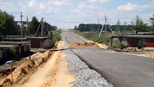 Строительство путепровода на Магистральной-Бастионной. Фото Втамбове.ру
