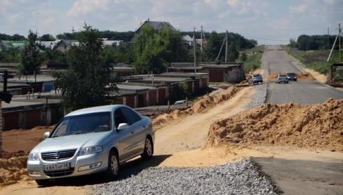 Магистральный путепровод на северо-западе Тамбова. Фото Втамбове.ру