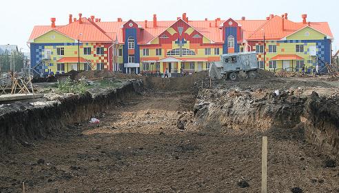 Строительство дороги со стороны Агапкина