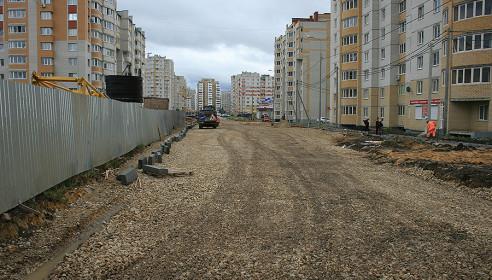 Улица Победы в мкр. Московский