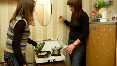 Проживание в студенчеком общежитии