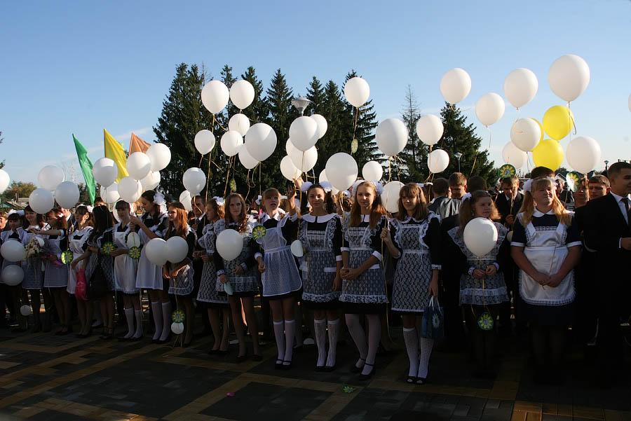 Открытие новой школы в Петровке Тамбовской области
