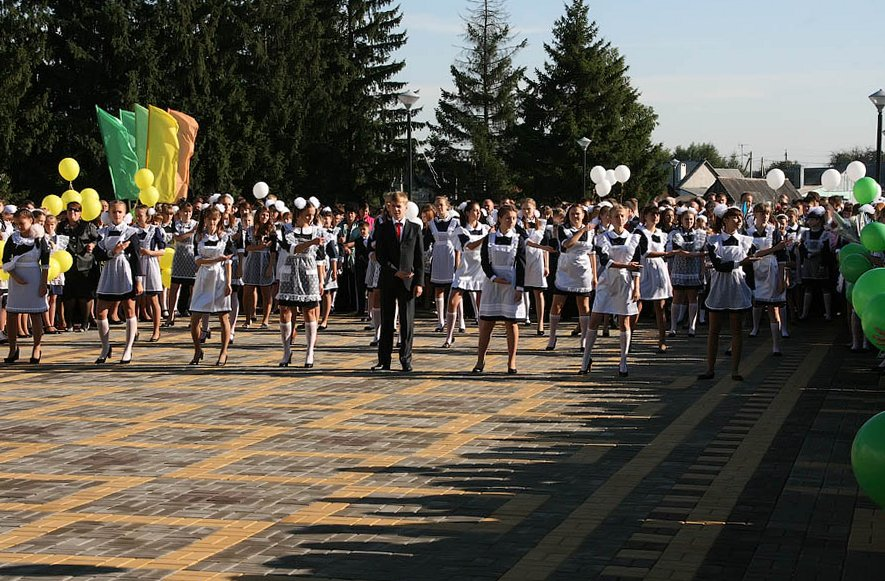 1 сентября в Петровке Тамбовской области