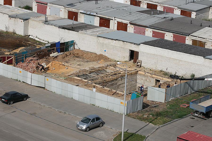 Строительство по улице Северо-Западной