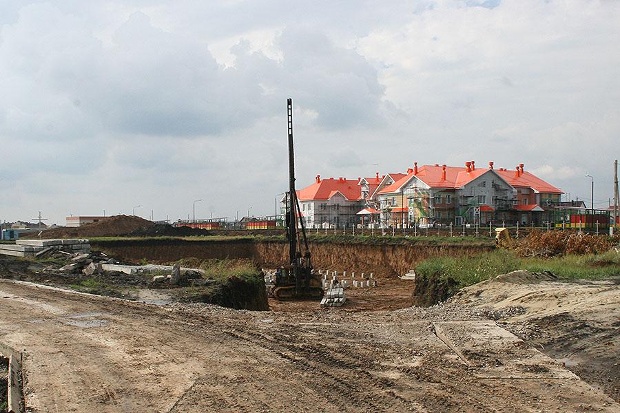 Строительство храма Серафима Саровского в Радужном