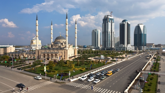 Мечеть «Сердце Чечни» в Грозном. Фото ИТАР-ТАСС