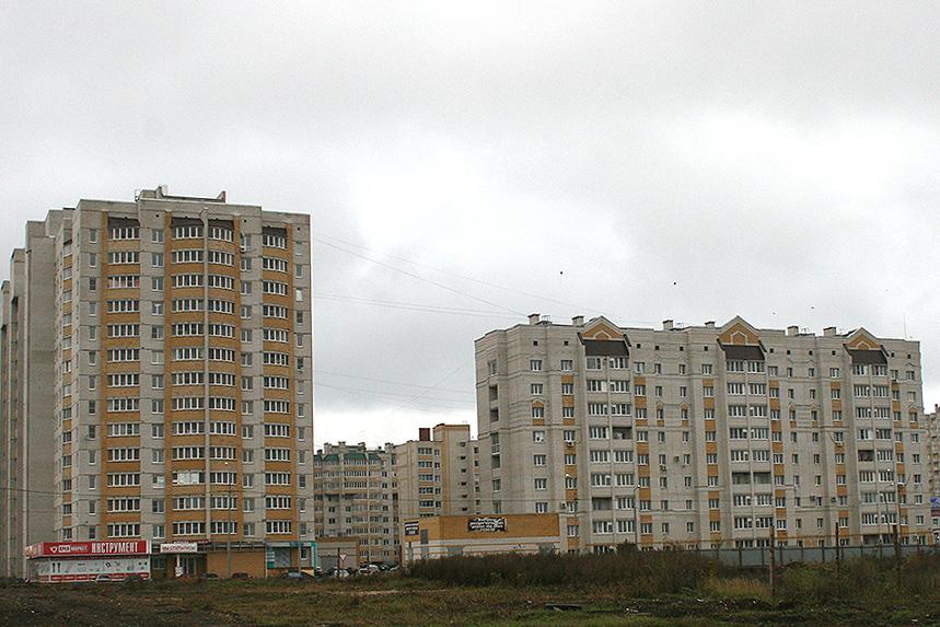 Многоэтажки в Тамбове