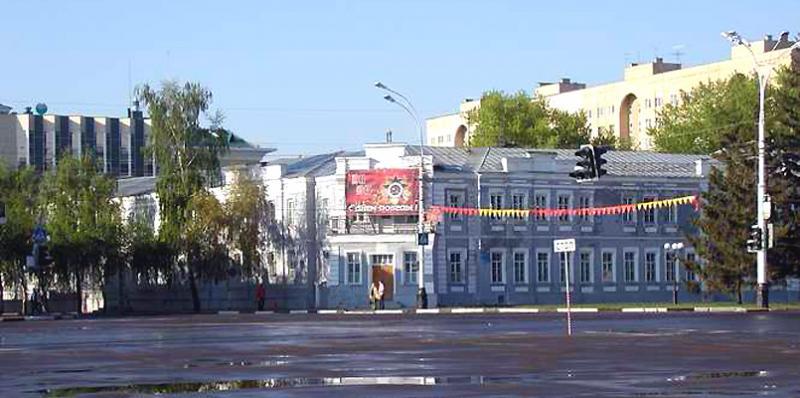 Областной военкомат в Тамбове