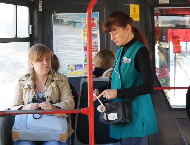 Проезд в общественном транспорте в Тамбове