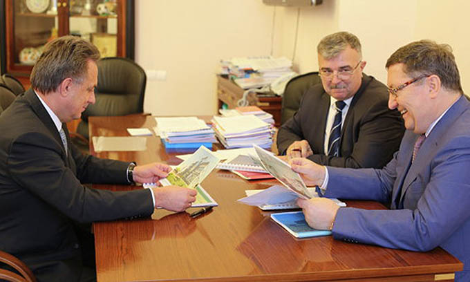 Бетин и Мутко. Фото РИА Новости.