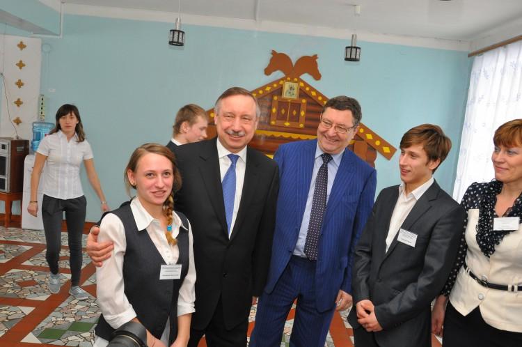 Анастасия Алпацкая, Олег Бетин и Беглов