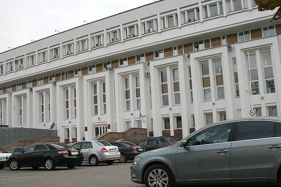 Администрация Тамбовской области, парковка