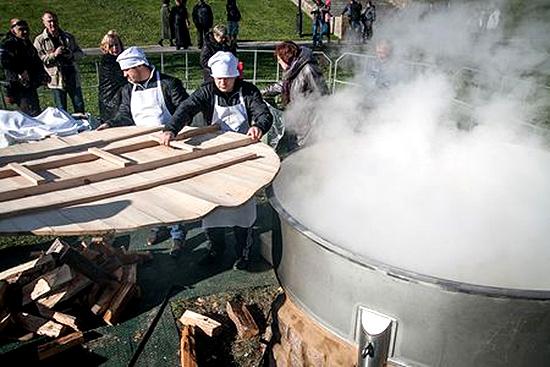 На Покровской ярмарке сварят 377 кг картошки