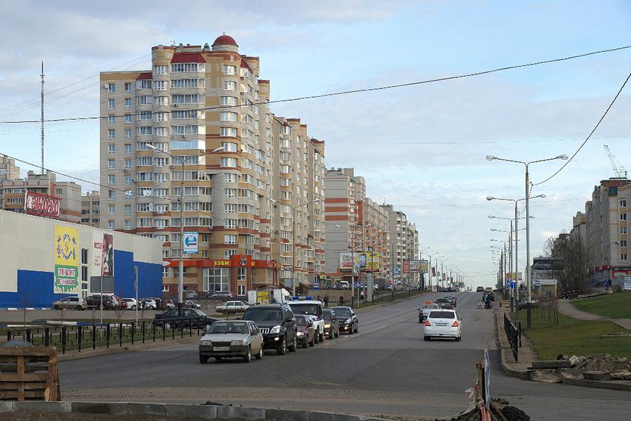Ул. Чичерина. Фото Владимир Якимов.