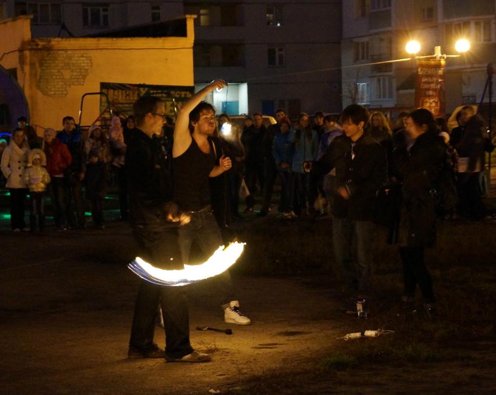 Фаер-шоу в Московском