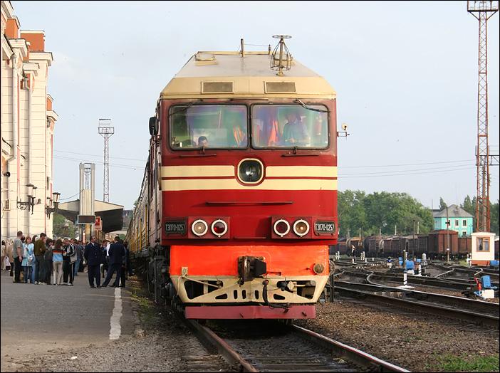 Жд-вокзал в Тамбове