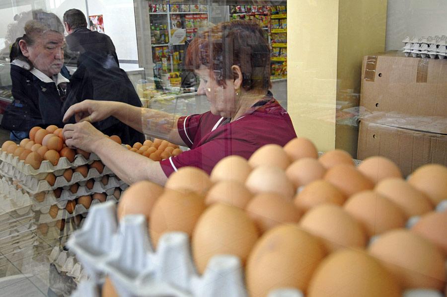 Рост цен на яйца
