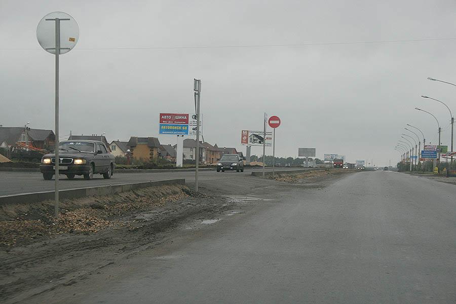 Новая Мичуринская в ходе реконструкции