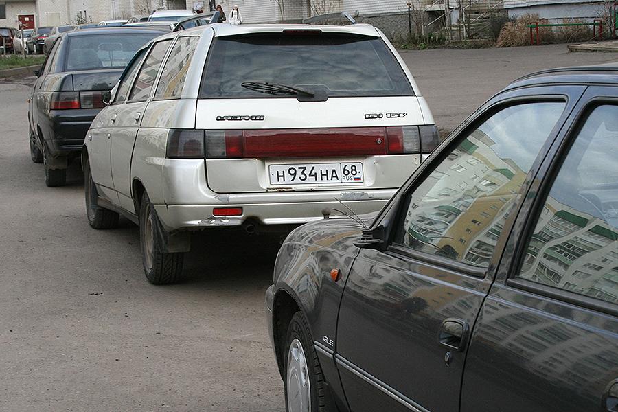 Испорченные авто на Ореховой